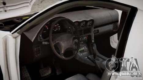 Mitsubishi 3000GT ST pour GTA 4 est une vue de l'intérieur