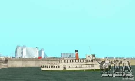 RMS Segwun Ferry für GTA San Andreas rechten Ansicht