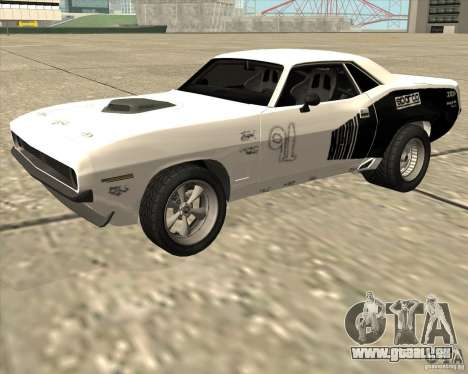 Plymouth Hemi Cuda Rogue pour GTA San Andreas