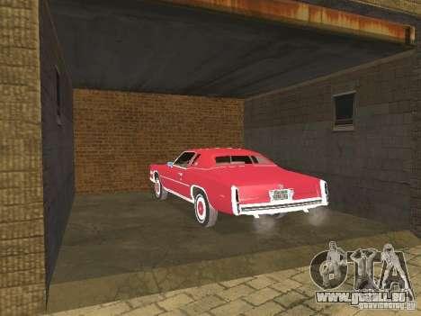 Cadillac Eldorado pour GTA San Andreas vue de côté