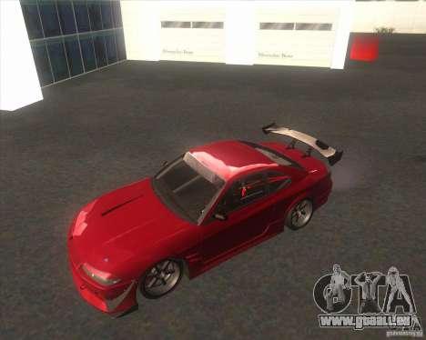 Nissan Silvia S15 with AKATSUKI paintjob pour GTA San Andreas vue arrière