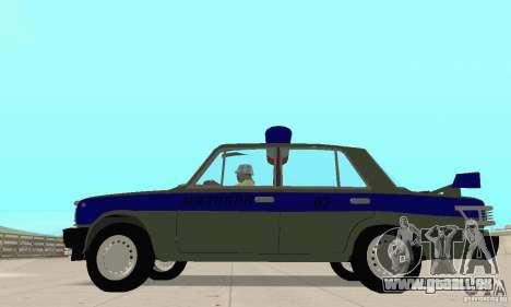 VAZ 2101 Polizei für GTA San Andreas rechten Ansicht