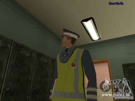 Inspektor DPS für GTA San Andreas her Screenshot