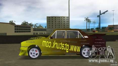 Anadol GtaTurk Drift Car pour une vue GTA Vice City de la gauche