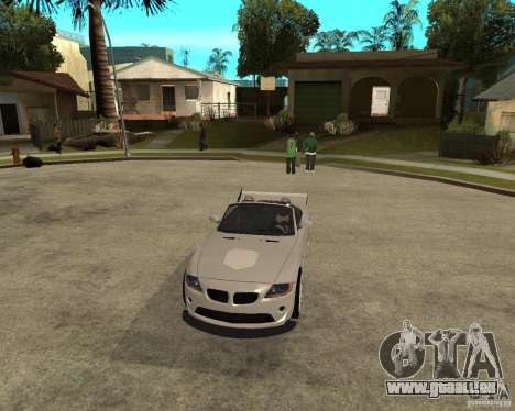 BMW Z4 Supreme Pimp TUNING volume II pour GTA San Andreas vue intérieure