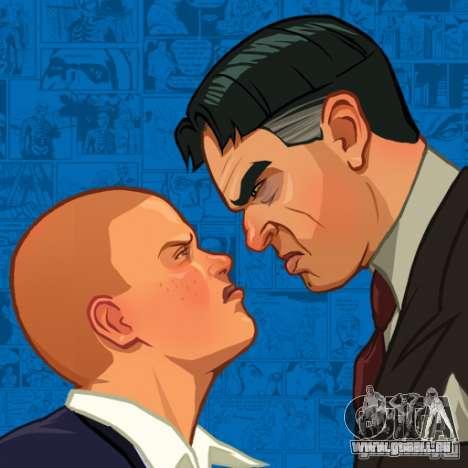 Zakruzočnye écrans Bully Scholarship Edition pour GTA San Andreas troisième écran