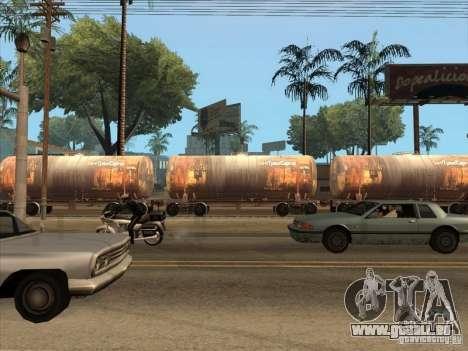 2 wagons pour GTA San Andreas vue arrière