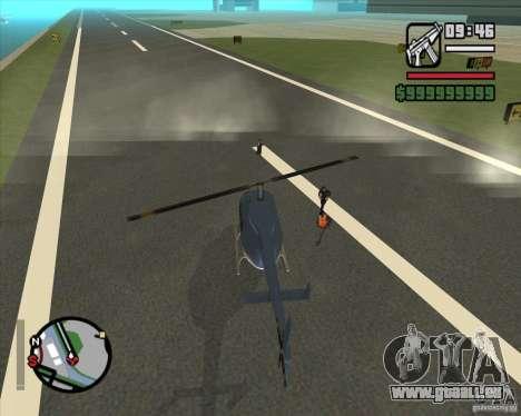 Pilote de l'emploi pour GTA San Andreas quatrième écran