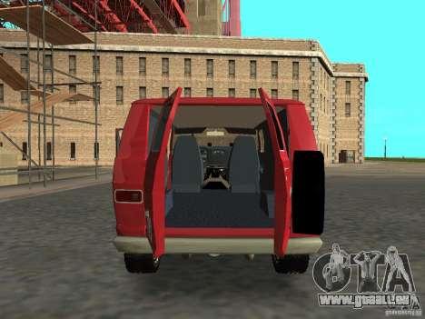 Dodge Tradesman 7z für GTA San Andreas rechten Ansicht