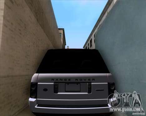 Range Rover Hamann Edition für GTA San Andreas Seitenansicht