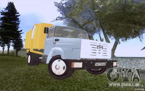 ZIL 4331 Müllwagen für GTA San Andreas linke Ansicht