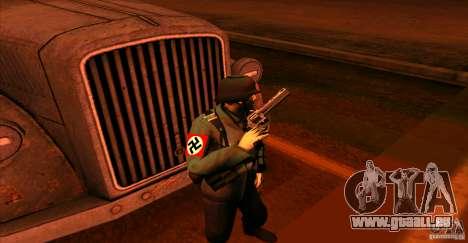 Soldats de la Wehrmacht pour GTA San Andreas quatrième écran