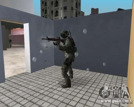 Frost von CoD MW3 für GTA Vice City Screenshot her