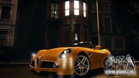 Alfa Romeo 8C Spyder pour GTA 4