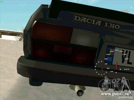 Dacia 1310 Sport pour GTA San Andreas vue arrière