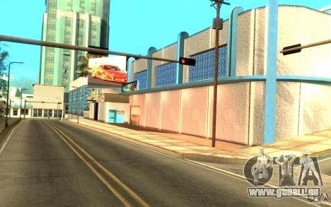 2Fast2Furious Transfender & Pay and Spray pour GTA San Andreas deuxième écran