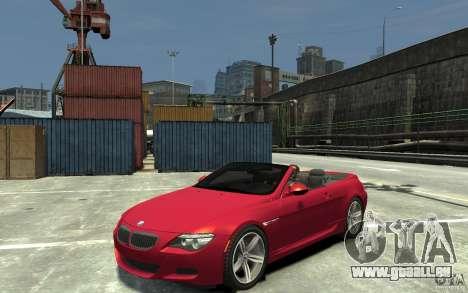 BMW M6 Convertible für GTA 4