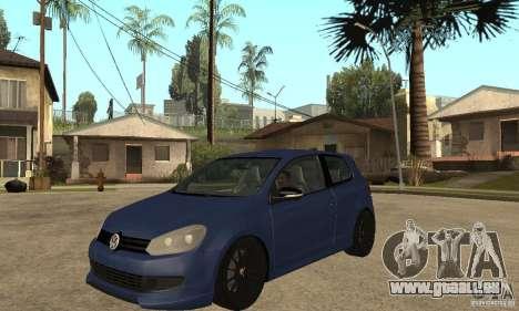 Volkswagen Golf Mk6 2010 pour GTA San Andreas