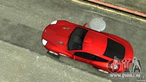 Aston Martin Vanquish S v2. 0 getönt für GTA 4 rechte Ansicht