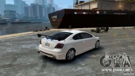 Toyota Scion für GTA 4 linke Ansicht