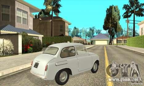 ZAZ-965 pour GTA San Andreas vue de droite