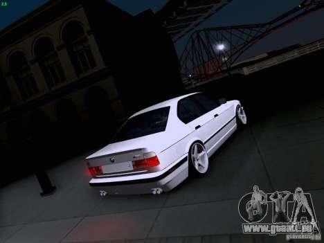 BMW M5 E34 Stance pour GTA San Andreas vue de côté