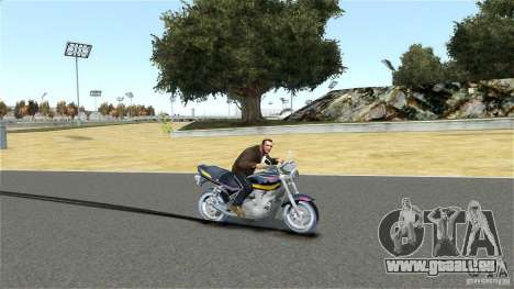 Kawasaki Zephyr für GTA 4 hinten links Ansicht