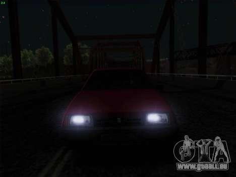VAZ 21083i für GTA San Andreas Unteransicht