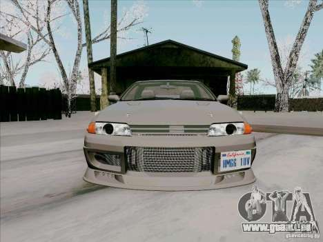 Nissan Skyline GTS-T pour GTA San Andreas vue intérieure