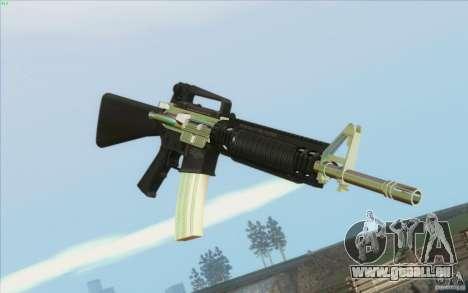 Low Chrome Weapon Pack pour GTA San Andreas deuxième écran