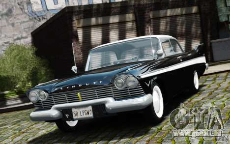 Plymouth Belvedere Sport Sedan 1957 pour GTA 4