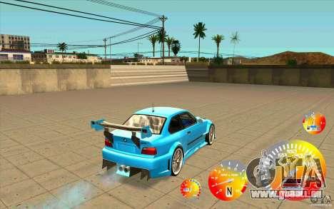 Compteur de vitesse CraZZZy v. 1,2 + limitée die pour GTA San Andreas