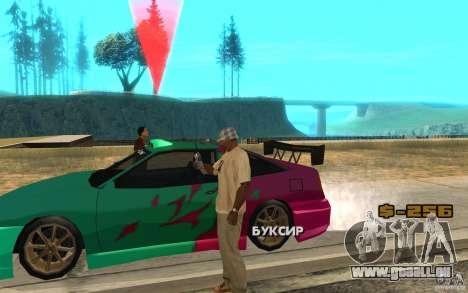 Le masque des diapositives pour GTA San Andreas deuxième écran