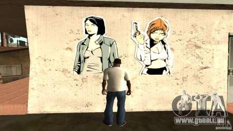 T-Shirt Verdammt ja für GTA San Andreas zweiten Screenshot