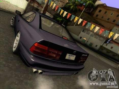 BMW 850 CSI für GTA San Andreas obere Ansicht