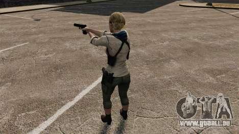 Sherry Birkin pour GTA 4 cinquième écran