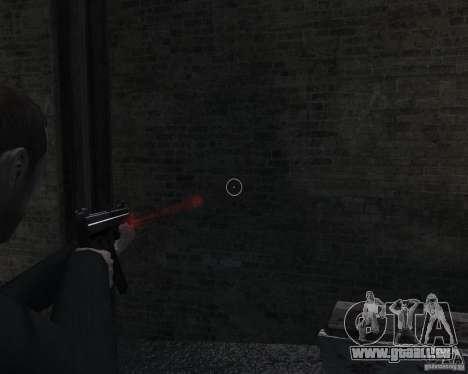 Flashlight for Weapons v 2.0 pour GTA 4 huitième écran