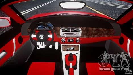 BMW Z4 Roadster 2007 i3.0 Final pour GTA 4 est un droit