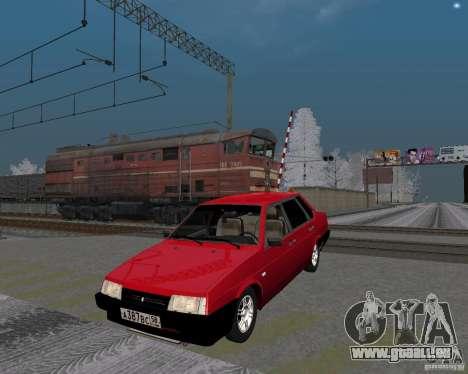 VAZ 21099 Satellite pour GTA San Andreas