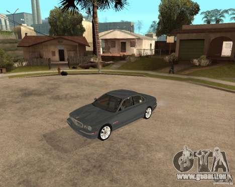 Jaguar XJ-8 2004 pour GTA San Andreas laissé vue