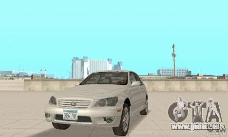 Lexus IS300 Stock pour GTA San Andreas