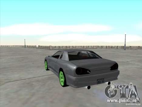 Elegy Full VT v1.2 pour GTA San Andreas vue arrière