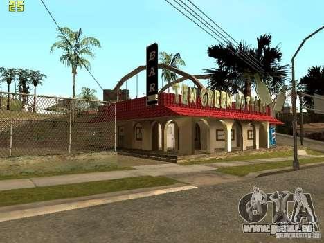 New Bar Ganton v.1.0 pour GTA San Andreas deuxième écran