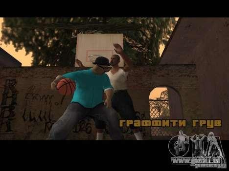 Varrio Los Aztecas pour GTA San Andreas cinquième écran