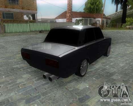 VAZ 2107 Drift Enablet Editional i3 pour GTA San Andreas laissé vue
