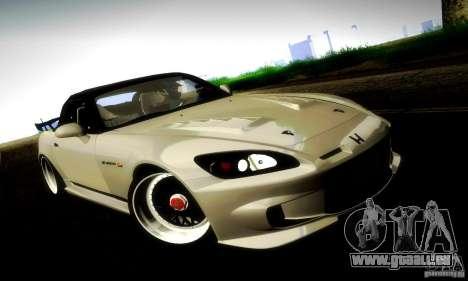 Honda S2000 JDM Tuning pour GTA San Andreas salon