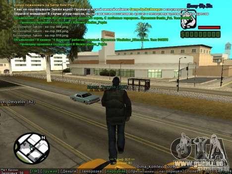 m0d S0beit 4.3.0.0 Full rus für GTA San Andreas sechsten Screenshot