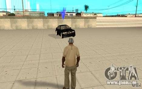 007 car für GTA San Andreas dritten Screenshot