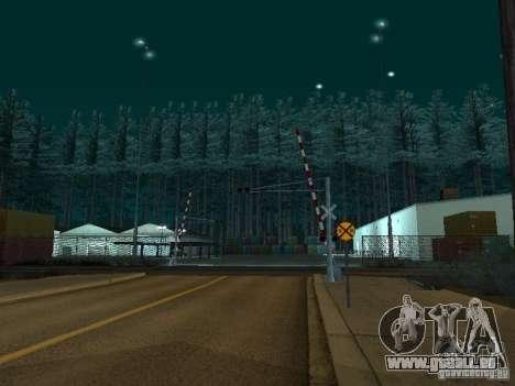 Wald in Las Venturas für GTA San Andreas dritten Screenshot