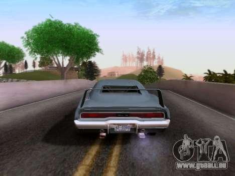 Dodge Charger RT pour GTA San Andreas laissé vue
